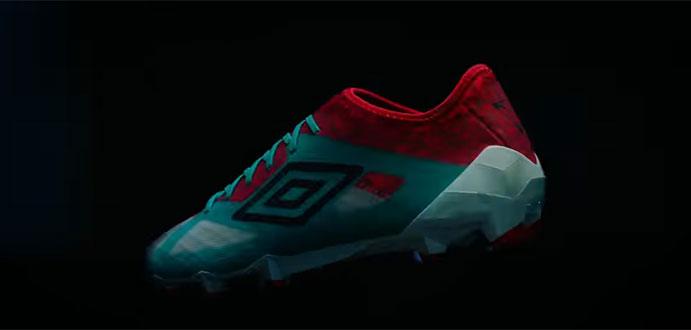 Umbro lanza la tercera edición de su bota de velocidad Velocita