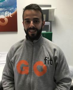 Alberto Lara, coordinador centro GO fit Vallehermoso