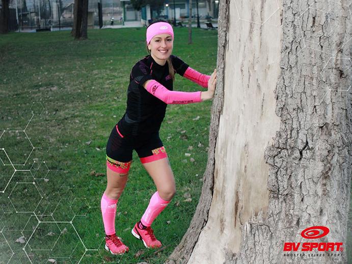 Azara García se une al equipo de embajadores de BV Sport