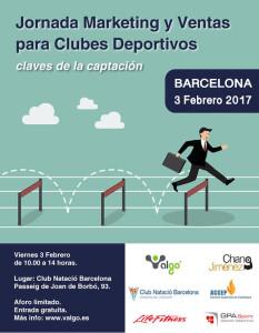 Cartel Jornada Marketing ventas barcelona
