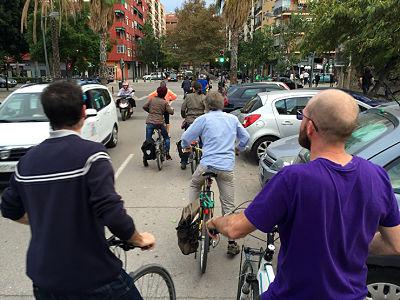 ConBici rechaza la propuesta de un carné por puntos para los ciclistas