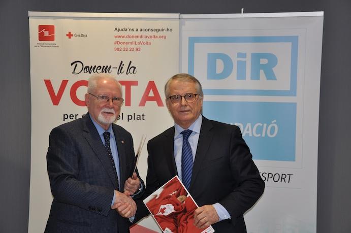 Dir y Cruz Roja firman un convenio para ayudar a los más necesitados