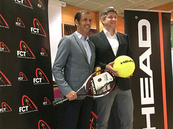 Head amplía su patrocinio a la Federación Catalana de Tenis