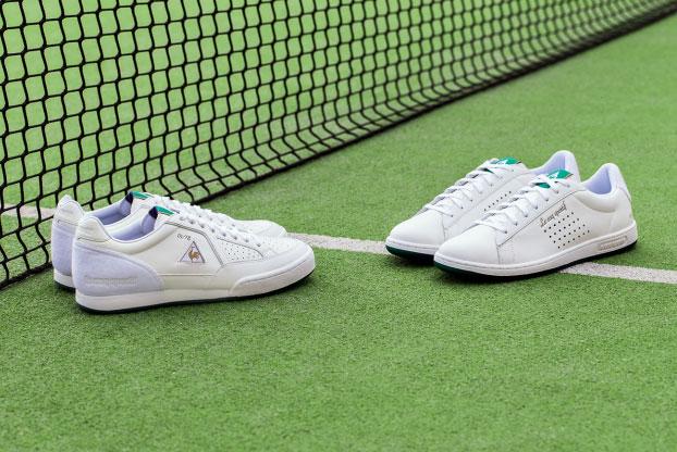 Le Coq Sportif rememora el Wimbledon de 1978 en unas zapatillas de tenis