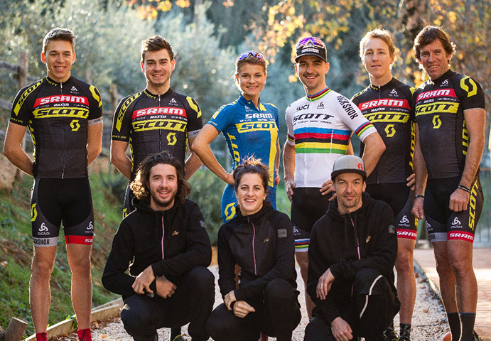 Sram se une al Scott Global MTB Racing Team como patrocinador principal