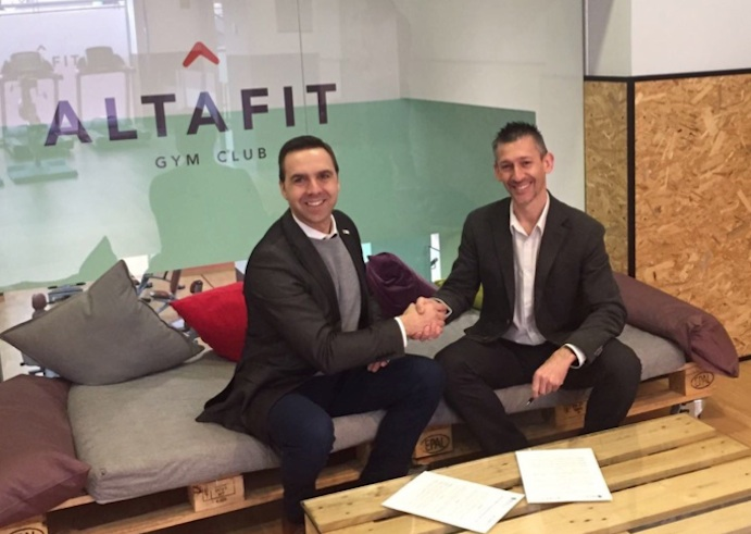 Altafit firma un acuerdo con NSCA Spain para la formación de sus técnicos