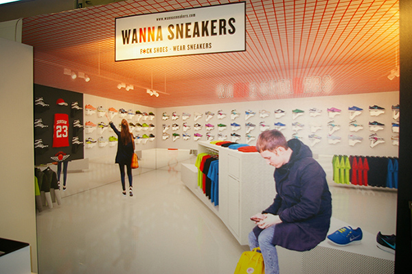 Inaugurada la primera tienda Wanna Sneakers