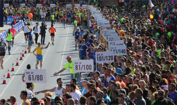 Los maratones por relevos Ekiden Valencia y Barcelona abren inscripciones