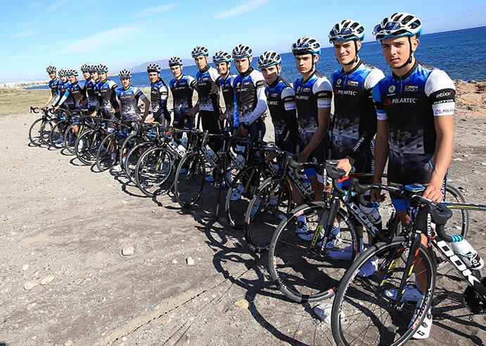 Polartec y el equipo ciclista de la Fundación Contador renuevan su colaboración