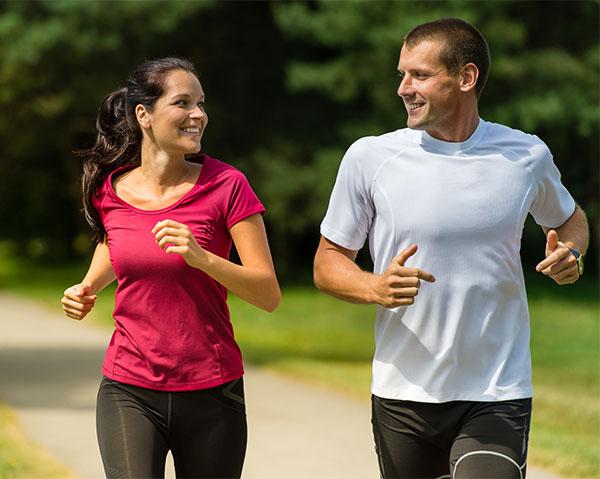 Las claves para disfrutar corriendo en pareja
