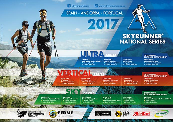 Los mejores trail runners se medirán en las Skyrunner National Series