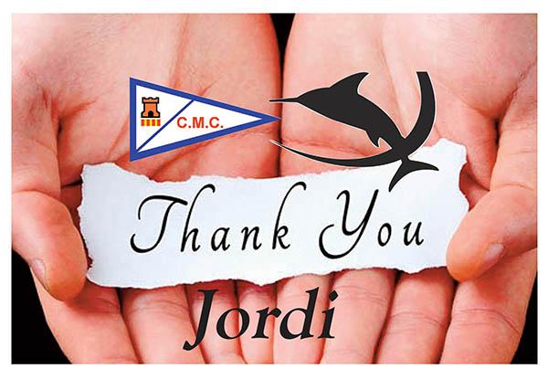 Gracias Jordi Obach