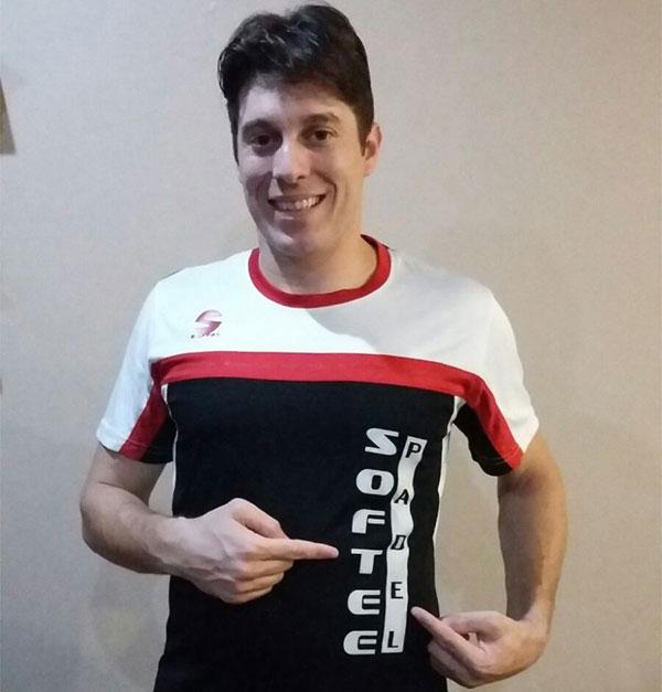 Chico Gomes se une al equipo Softee Pádel