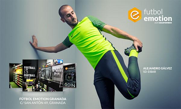 Futbol Emotion abre en Granada su tienda número 15