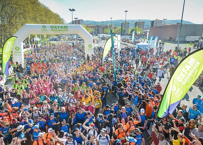 Más de 2.200 personas participarán en la Trailwalker Girona