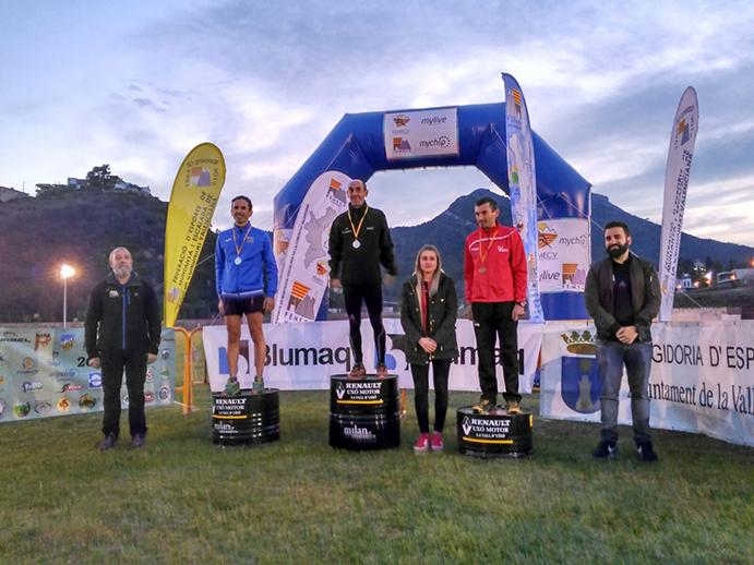 Ignasi Cardona se proclama campeón valenciano de Carrera Vertical