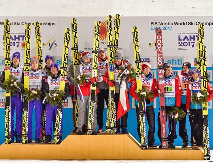 El Team Fischer, el más laureado en los campeonatos de Lahti