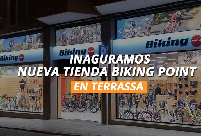 Biking Point alcanza las siete tiendas tras abrir en Terrassa