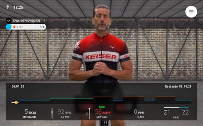 Bkool entra en el fitness con clases virtuales de ciclo indoor
