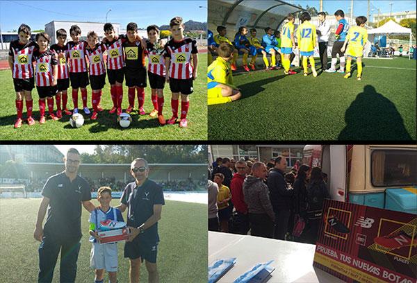 New Balance celebra en Galicia su segundo clinic de fútbol