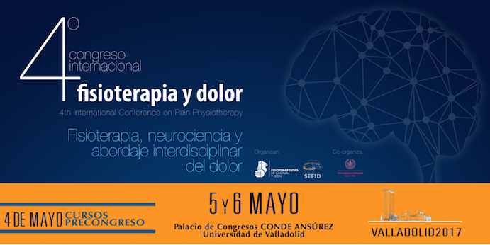 El Congreso Internacional de Fisioterapia se celebrará en Valladolid
