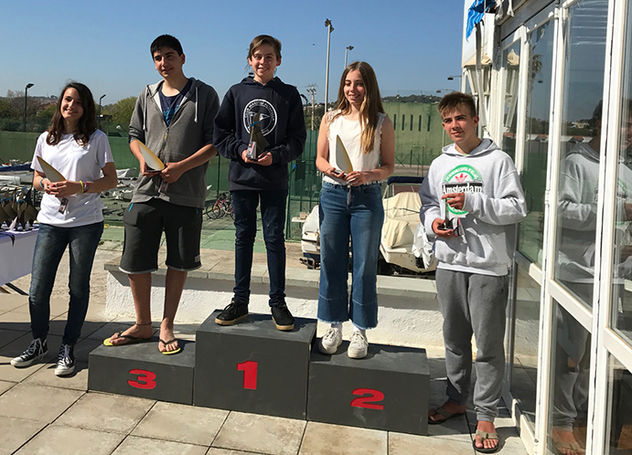Pol Nomdedeu fue el ganador de patín junior. En segundo lugar quedó Irene Sánchez-Runde y en tercero, Isaac Bassas. La cuarta plaza fue para Paco Sánchez y la quinta paras Paula Farrás.