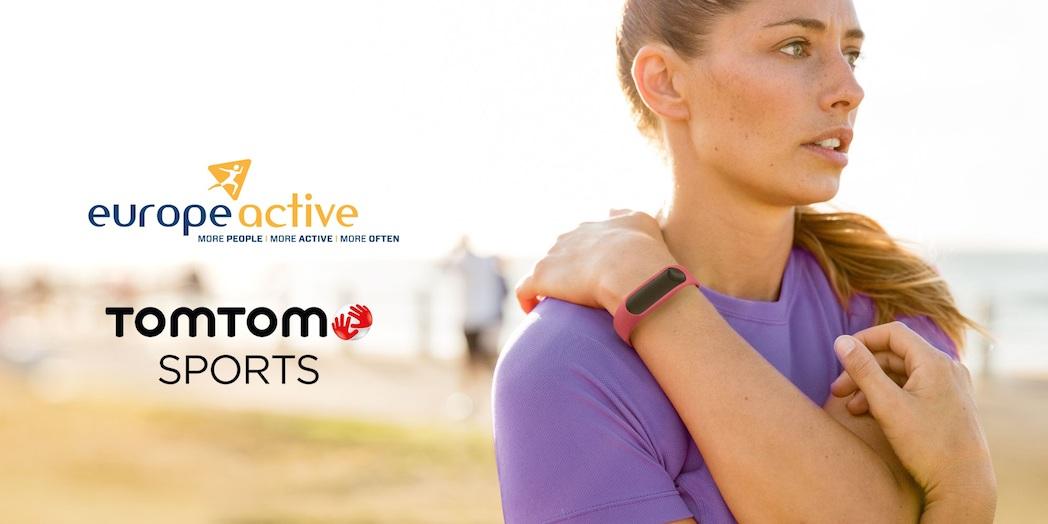 TomTom Sports y EuropeActive unen sus fuerzas