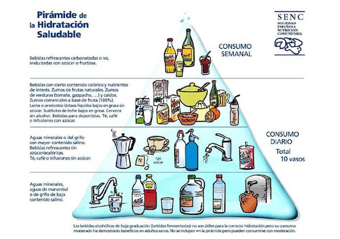 nueva piramide nutricional senc
