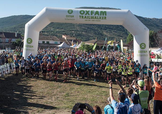 La Trailwalker se alía con Runator para sumar más kilómetros solidarios