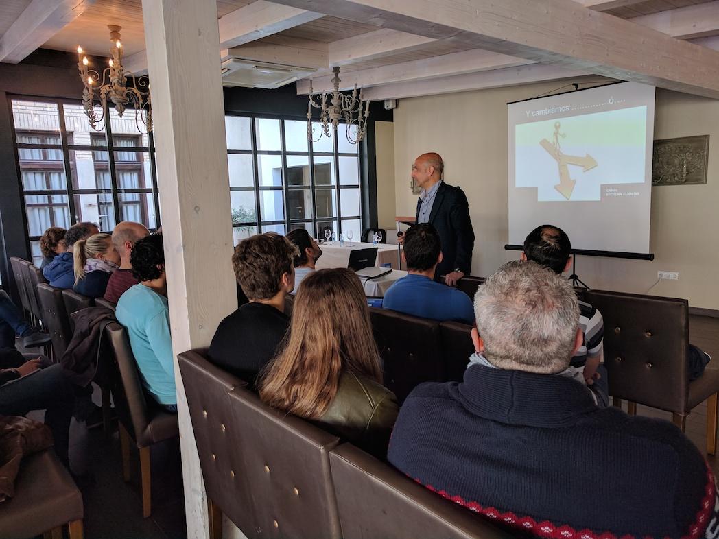 40 empresas se forman sobre tecnología en Pamplona