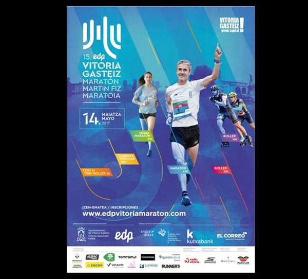El 15º EDP Vitoria-Gasteiz Maratón Martín Fiz espera superar los 5.000 participantes