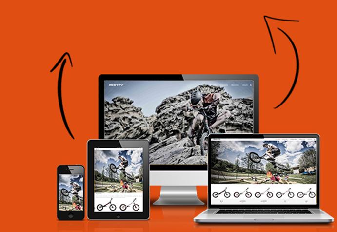 Bicicletas Monty renueva su web y cambia de dominio