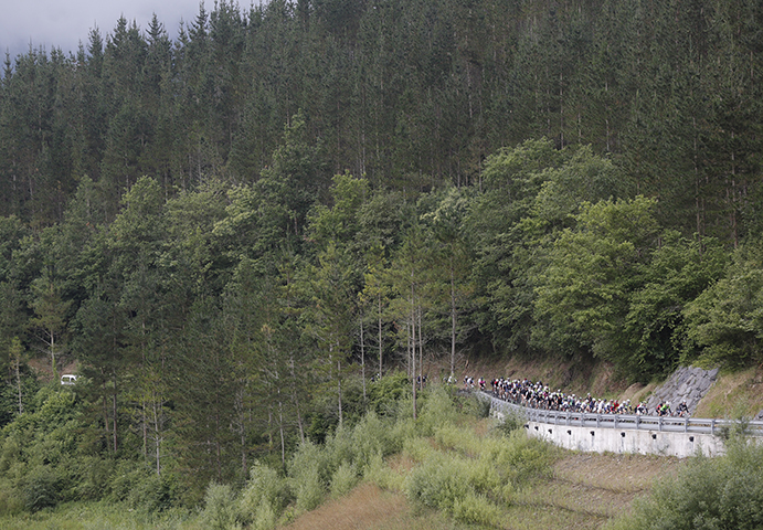 Unos 500 ciclistas se enfrentarán a la Gran Fondo BIBE Transbizkaia