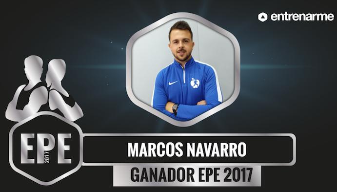 Marcos Navarro, elegido mejor entrenador personal del año