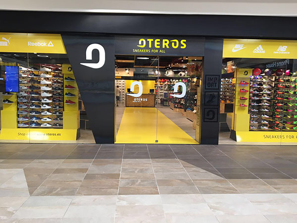 Oteros Sport alcanza las 80 tiendas