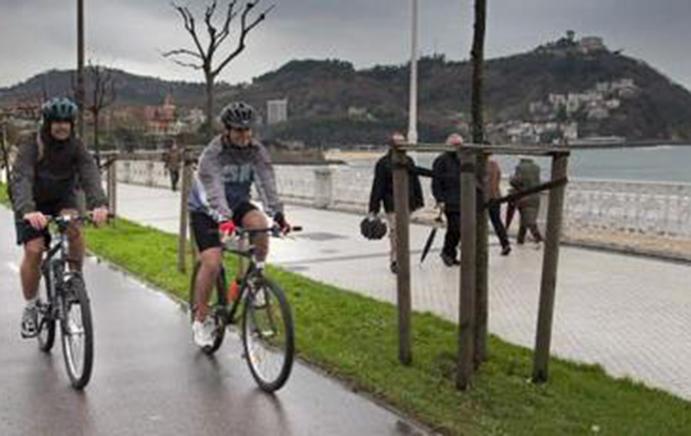 Guipúzcoa se une a la Red de Ciudades por la Bicicleta