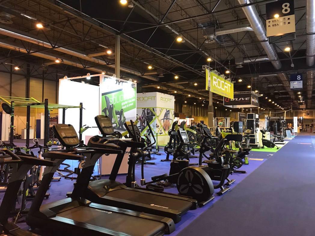 Fotogalería: los stands de Gym Factory 2017