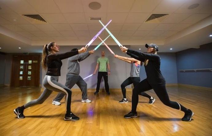 Clases 'Jedi' en David Lloyd Colchester