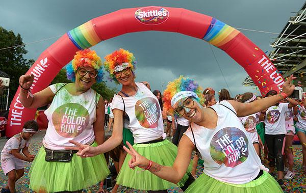 The Color Run by Skittles volverá en octubre a Barcelona