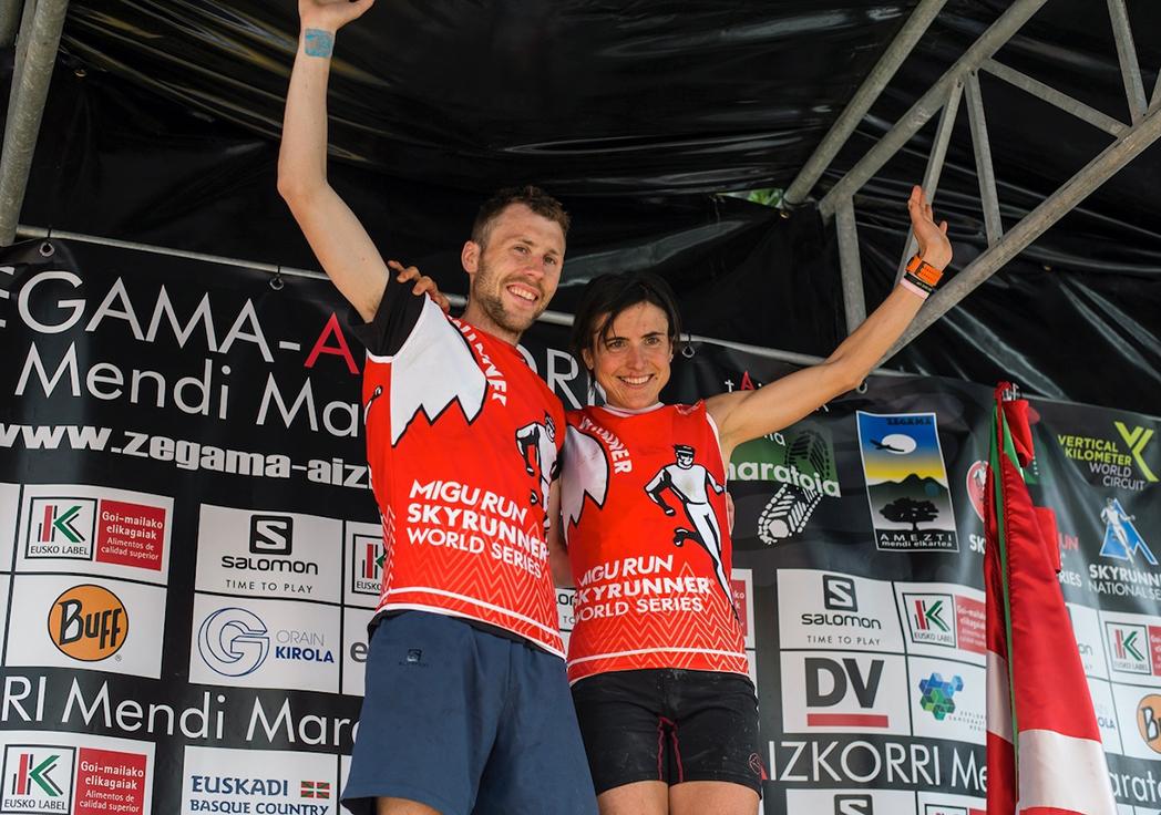Stian Angermund-Vik y Maite Maiora pulverizan récords en Zegama