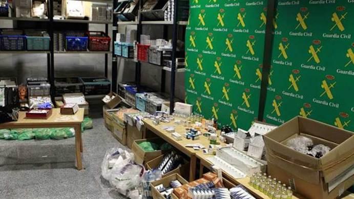 Málaga, eje de la mayor operación europea contra el tráfico de anabolizantes