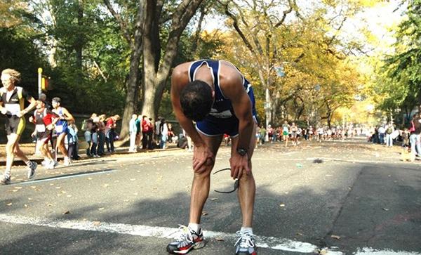 A raíz de la criba en el running