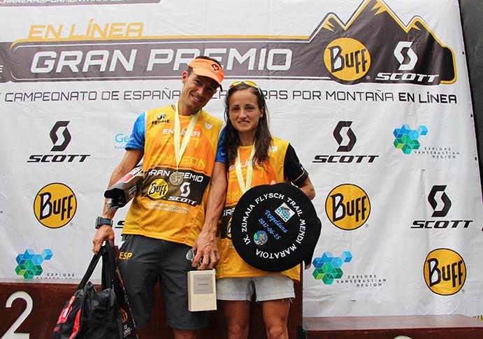 Dani García y Eli Gordón, campeones de Carreras por Montaña en Línea Fedme