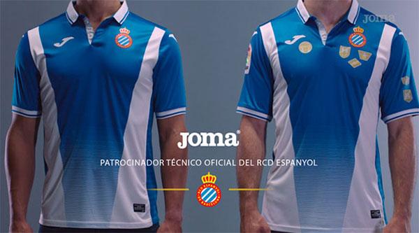 Joma presenta la nueva camiseta del Espanyol