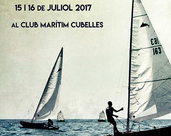 El Club Marítim Cubelles convoca el Campeonato de Cataluña 2017 de patin a vela junior
