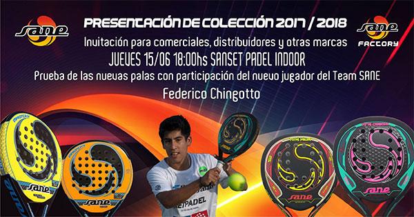 Padel Sane presenta sus novedades para la temporada 2017/18 en Madrid