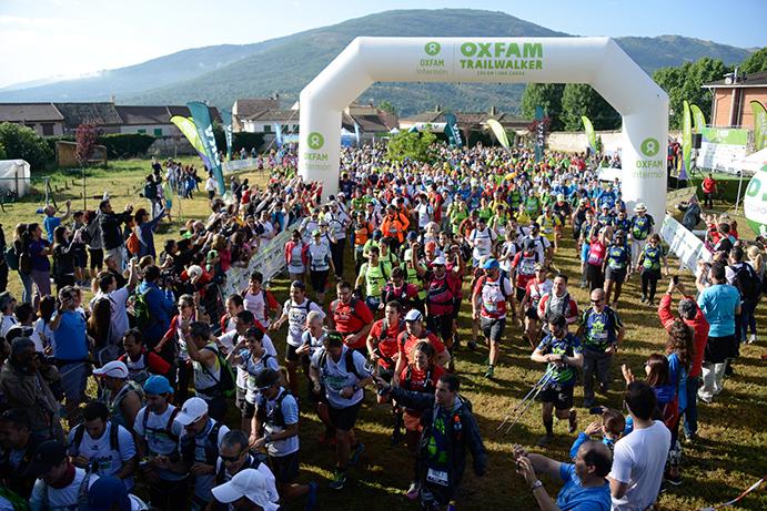 La Oxfam Intermón Trailwalker supera el millón de euros de recaudación