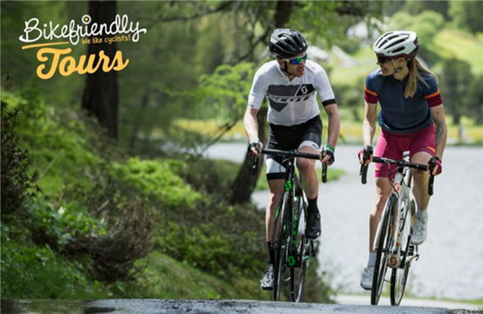 Scott será el principal proveedor de bicicletas de Bikefriendly Tours