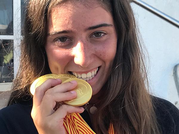 """Adriana Barangué: """"cuando me agujerearon creí que me había quedado sin patín y sin campeonato"""""""