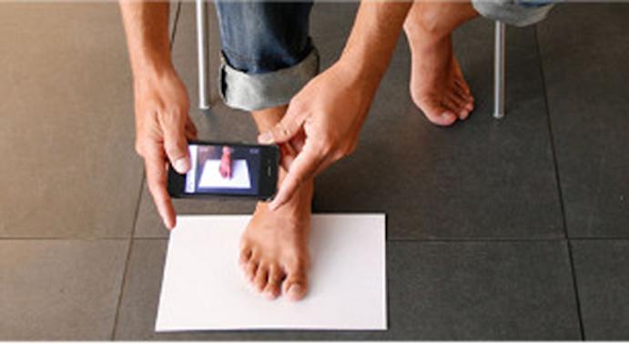 Desarrollan una app en Valencia para probar el calzado online
